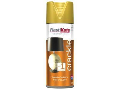 Plasti-kote Crackle Touch Spray Gold Base Coat 400ml