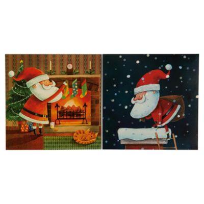Tesco Santa & Co Christmas Cards, 12 Pack