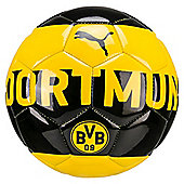 Puma Dortmund Fan Football Soccer Ball Mini Yellow/Black