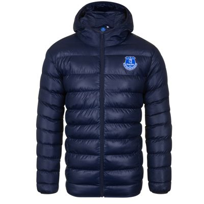 Everton FC Mens Quilted Jacket Small