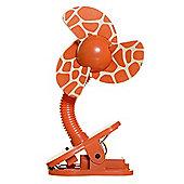 Dreambaby Portable Stroller Fan - Giraffe