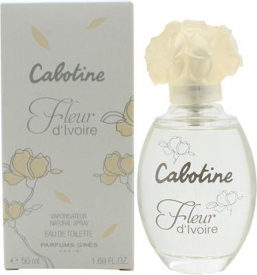 Gres Parfums Cabotine Fleur DIvoire Eau de Toilette (EDT) 50ml Spray For Women