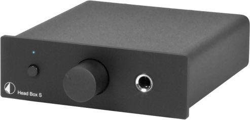 Project Headbox S Headphone Amplifier (Black)
