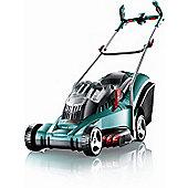 "Bosch Rotak 43LI 43cm (16"") Cordless Rotary Mower c/w 2 Batteries"