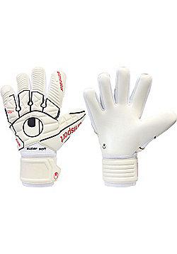 Uhlsport Eliminator Comfort Hn Junior Goalkeeper Gloves - White