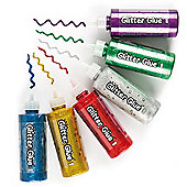 Jumbo Glitter Craft Glue Tubes (Pack of 6)