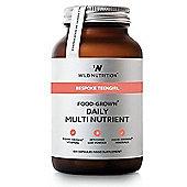 Wild Nutrition Bespoke Teengirl Food-Grown Daily Multi Nutrient Vegicaps