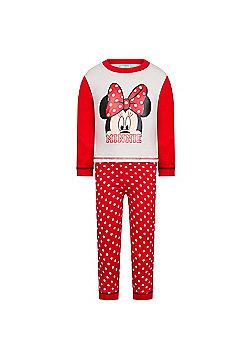 Disney Mickey Minnie Mouse Baby Pyjamas - Red