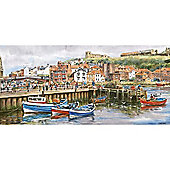 Whitby Harbour Jigsaw Puzzle John Wood
