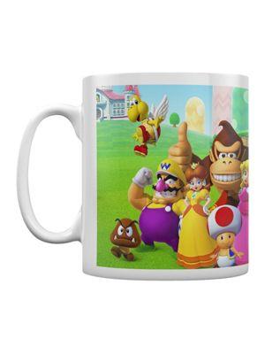 Super Mario Mushroom Kingdom 10oz Ceramic Mug