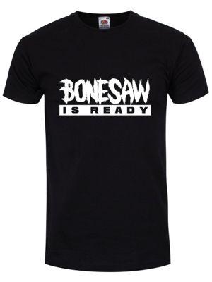 Bonesaw Is Ready Men's T-shirt, Black.