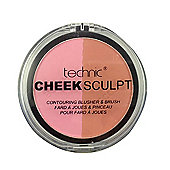 Technic Cheek Sculpt Contouring Duo Blusher & Brush-Rosy