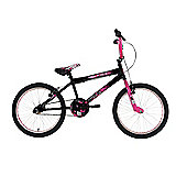 Zombie Outbreak Girls BMX Bike Black/Pink