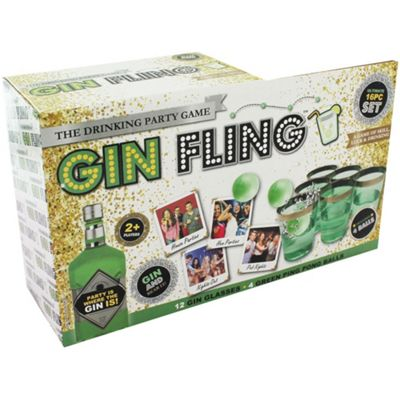 Gin Fling The Drinking Party Game