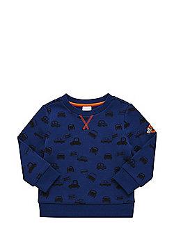 F&F Car Print Sweatshirt