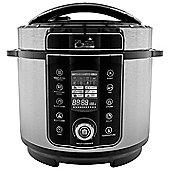 Pressure King Pro 6L Pressure Cooker - Chrome