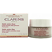 Clarins Multi-Active Day Early Wrinkle Correction Cream 50ml - All Skin Types