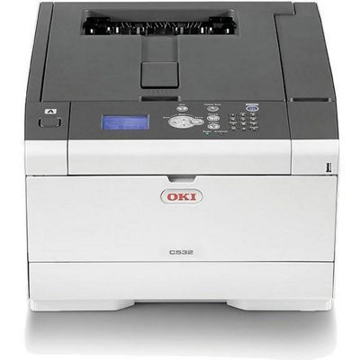 Oki A4 Colour Laser Printer 30ppm Mono 30ppm Colour 1200 X 1200 Dpi 3 Years On-site Warranty