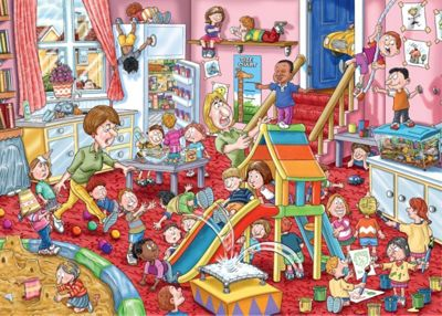 Wasgij Mystery 11 - Childcare Puzzle