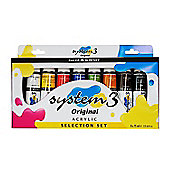 Daler Rowney System 3 Acrylic Paint Selection Set - Art Store