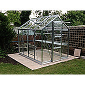 Rhino Harvest Greenhouse – 6x8 - Natural Aluminium Finish