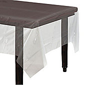 Clear Plastic Tablecover - 1.4cm x 2.8cm