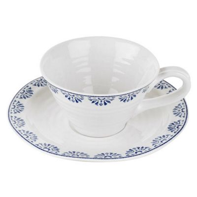 Portmerion Sophie Conran Blue Betty Teacup and Saucer 0.30L