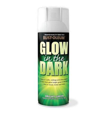 Buy Rust Oleum Glow In The Dark Green Aerosol Spray Paint 400ml From Our Emulsion Paint Range