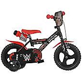 WWE Bicycle 12inch Balance Bike Black - DINO Bikes