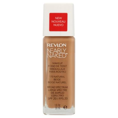 Revlon Nearly Naked Foundation Natural beige