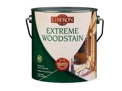 Liberon EWMO25L 2.5L Extreme Woodstain - Medium Oak