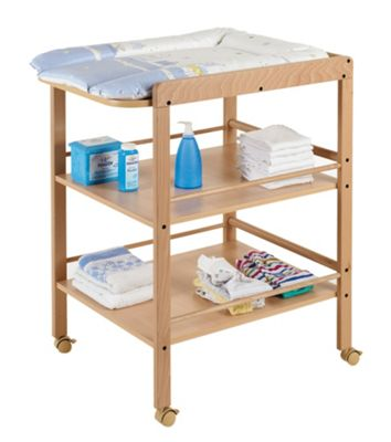 Geuther Clarissa Changing Table in Natural