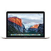 """Apple MacBook 12-inch 512GB Gold 12"""" Intel Core m5 8GB 512GB Apple OS X 10.9 Mavericks - OS X El Capitan - Gold"""