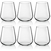 Bormioli Rocco Inalto Uno Water / Juice Tumblers - x6 Glasses - 350ml