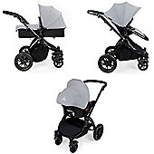 Ickle Bubba Stomp v2 3 in 1 - Silver (Black Chassis)
