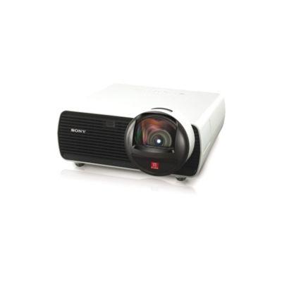 Sony VPL-SW125 LCD Projector, 1080i, 16:10, SECAM, HDTV, 1280 x 800, WXGA, 3800:1, 1800 lm, HDMI, VGA, Fast Ethernet, 275 W, 3 Year Warranty