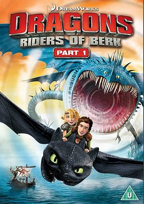 Dragons - Riders Of Berk DVD