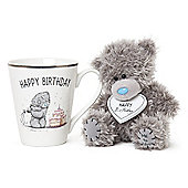 Me to You Happy Birthday Mug and Tatty Teddy Gift Set