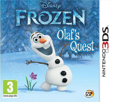 Disney Frozen : Olaf's Quest (3DS)