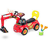 Caretero Scoop Ride-On (Red)