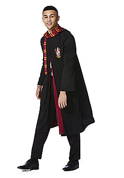 Warner Bros. Harry Potter Gryffindor Robe Adult Fancy Dress Costume - Black