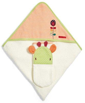 Mamas & Papas - Jamboree - Hooded Towel & Mitt