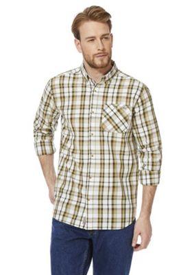 Regatta Bacchus Coolweave Long Sleeve Shirt Green 3XL