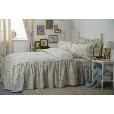 Country Dream Bluebell Meadow Bedspread - Single