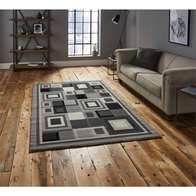 Hudson Square Grey Rug - 160x220cm