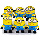 "Despicable Me 2 Minion 10"" Medium Plush Set of 6"