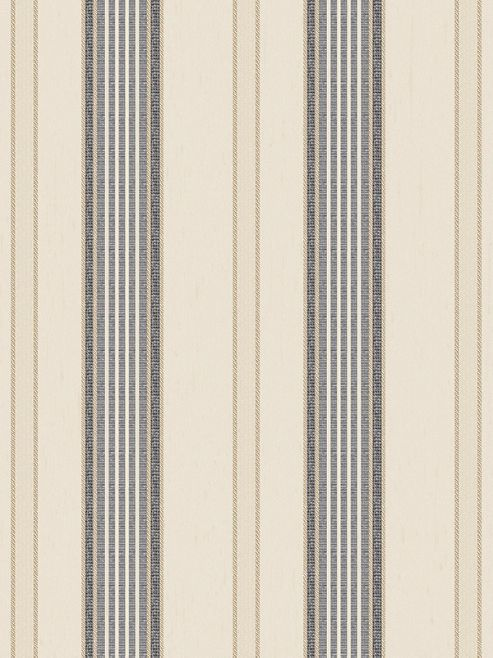 Elegance Stripe Wallpaper Cream / Charcoal Rasch 534405