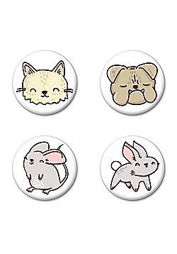 Perfect Pets Badge Pack - Multi