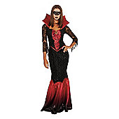 F&F Vampiress Halloween Costume - Red