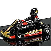 Scalextric Slot Car C3667 Super Kart (Black)
